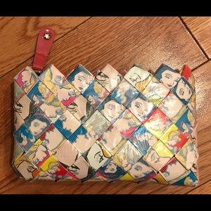Nahui Ollin Disney Princess wristlet purse clutch